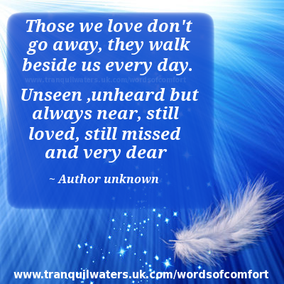 words of comfort bereavement poems bereavement quotes page 3