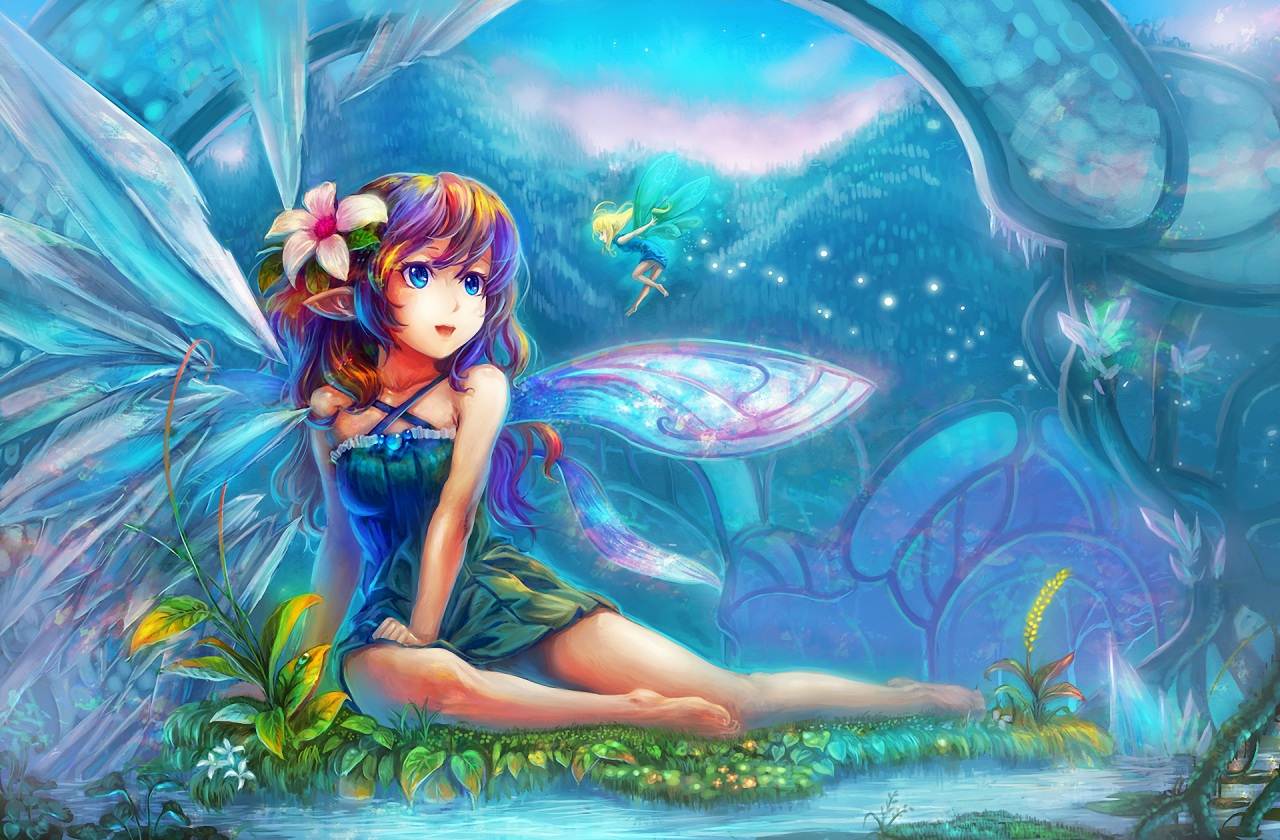 ... , fantasy art, beautiful ... Beautiful Fairies And Pixies Wallpaper Beautiful Fairy Pictures
