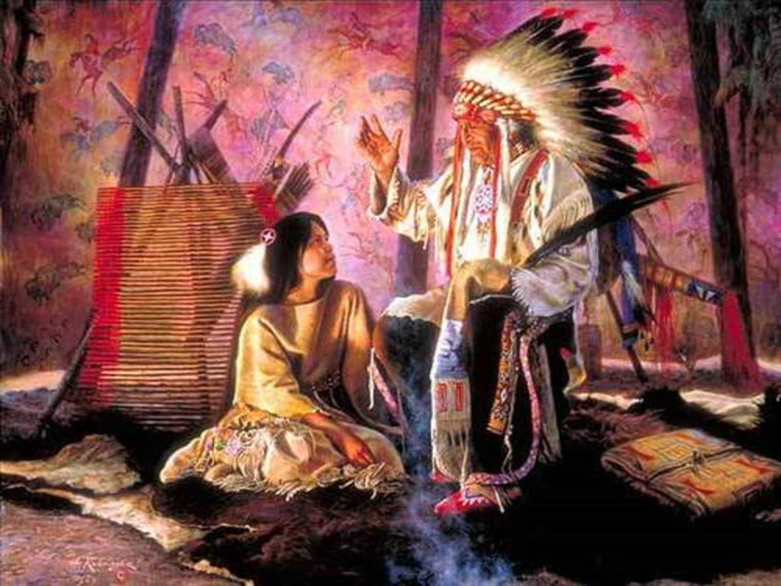 Native american evil spirits